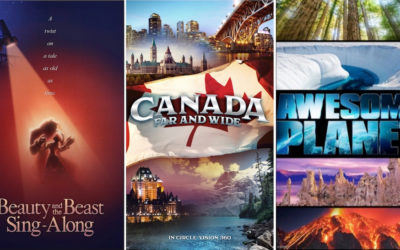 3 nuevas películas en Epcot