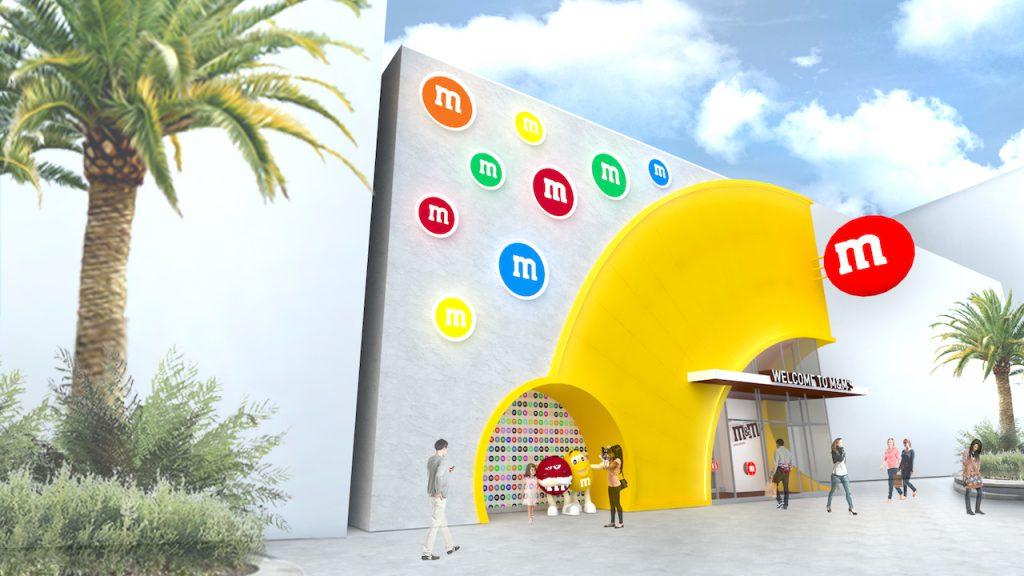 Tienda M&M en Disney Springs