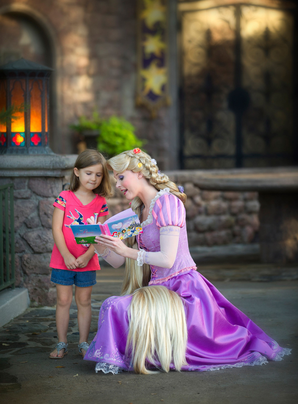 Encuentro con Rapunzel en Magic Kingdom
