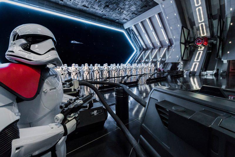 Nuevo sistema para montar en Rise of the Resistance