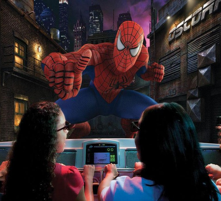 The Amazing Adventures of Spider Man en Universal's Islands of Adventure