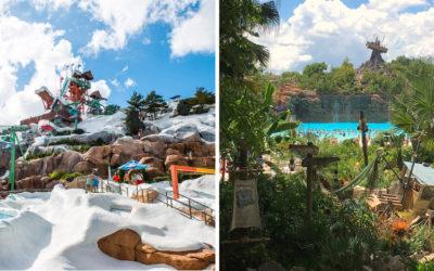 Diferencias entre parques acuáticos