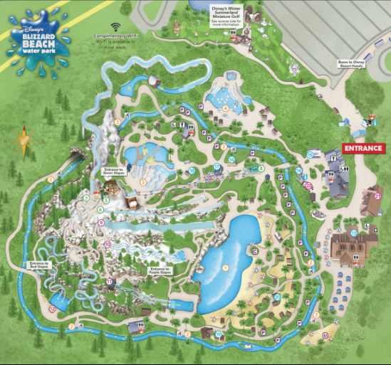 Disney's Blizzard Beach en Walt Disney World con Planning Orlando