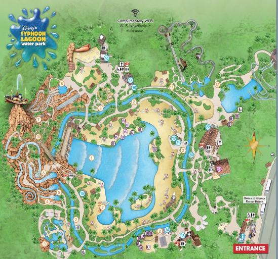Disney's Typhoon Lagoon en Walt Disney World con Planning Orlando