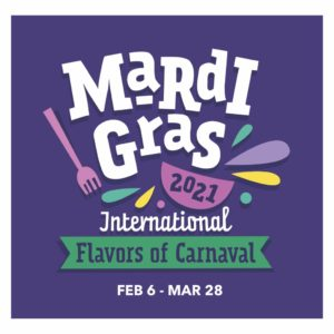 Mardi Gras International Flavors of Carnival Universal Orlando Resort