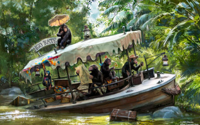 Cambios en la historia de Jungle Cruise