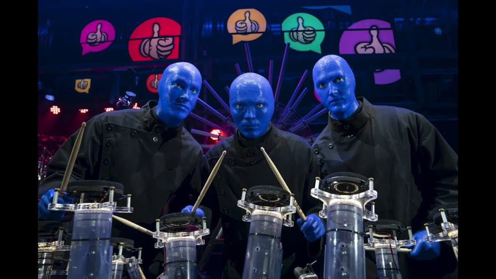 ¡Hasta siempre Blue Man Group!